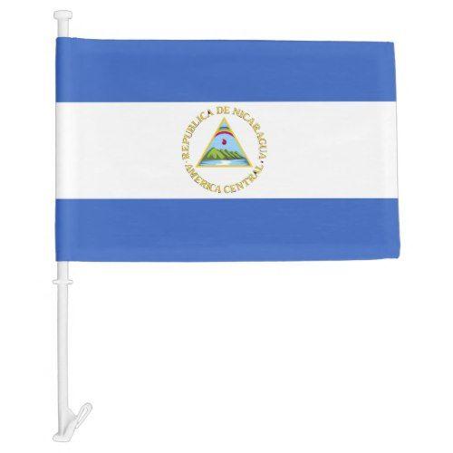 Flag Of Nicaragua Zazzle Com In 2020 Flag Personalized Custom Patriotic