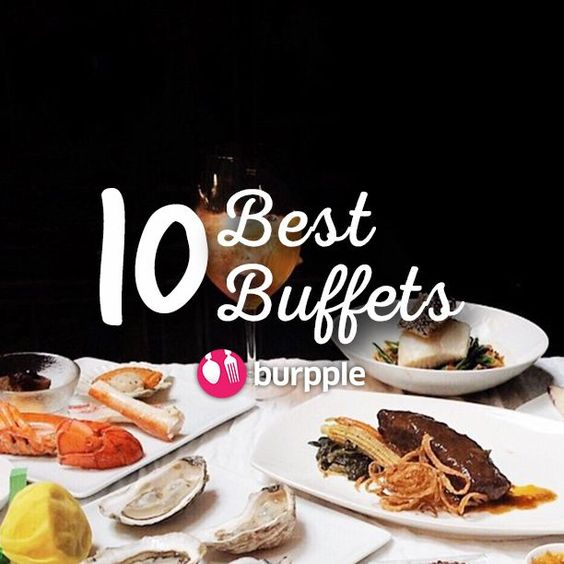 Buffets are for those times when mindless, passionate indulgence is what you want. Occasionally, it also comes with regret when you're done eating. Always go with an empty stomach and clear your schedule for the rest of the day because you'll need to nurse that food coma! . This article was originally