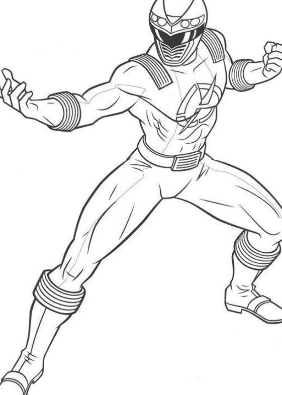 Dibujos Para Colorear Power Ranger In 2020 Ranger Power Rangers Humanoid Sketch