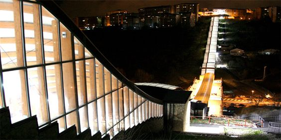 Potenza - Scale mobili di Santa Lucia (Santa lucia escalators ...