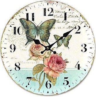 clock face  Arte e idéias Glória Ribeiro