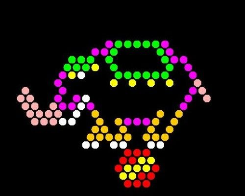 image relating to Lite Brite Refill Sheets Printable Free named Printable mild brite templates