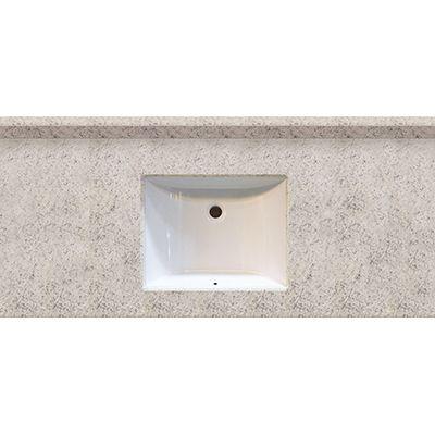 Arctic stone 49x22 engineered stone granite finish vanity - Engineered stone bathroom countertops ...