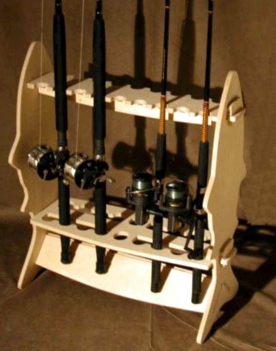 Fishing Rod Rack Rod Rack And Fishing Rods On Pinterest
