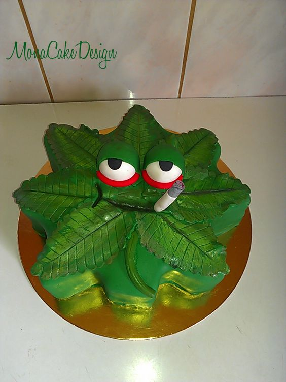 Pot Leaf Shaped Cake Pan