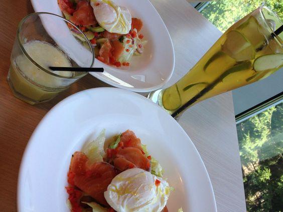 Day 15 midi  Salades au saumon