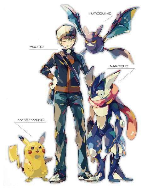 Pokemon. I don't get it but it is still cool