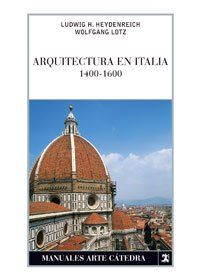 Arquitectura en Italia : 1400-1600, 2010 http://absysnetweb.bbtk.ull.es/cgi-bin/abnetopac01?TITN=513831