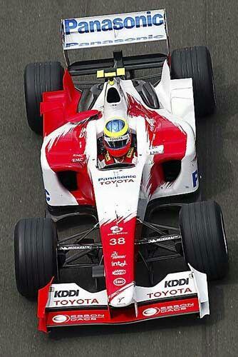 Ricardo Zonta                                    TOYOTA  TF104                                RVX-04  (NA 3.0L-V10)