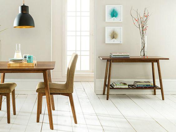 Combinar la mesa y las sillas