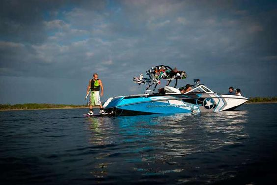 Nautique Boats! Can't wait to pick ours up next week! Ahhhhh! :)