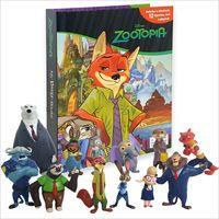 알라딘: My Busy Book : Zootopia (미니피규어 12개 포함)