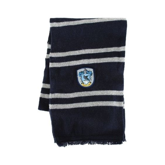 Ravenclaw Wool Scarf ($30) ❤ liked on Polyvore featuring accessories, scarves, harry potter, ravenclaw, evening shawl, woolen scarves, wool shawl, holiday scarves and wool scarves