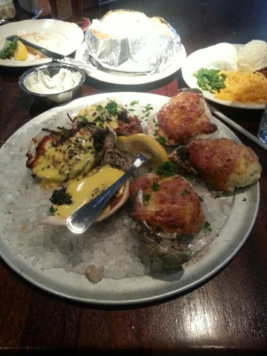 Oyster Appetizer, Pappadeaux Seafood Kitchen
