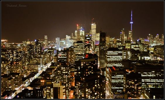 Downtown Toronto by Venkatesh Jairam, via 500px