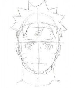drawing naruto step by step 10