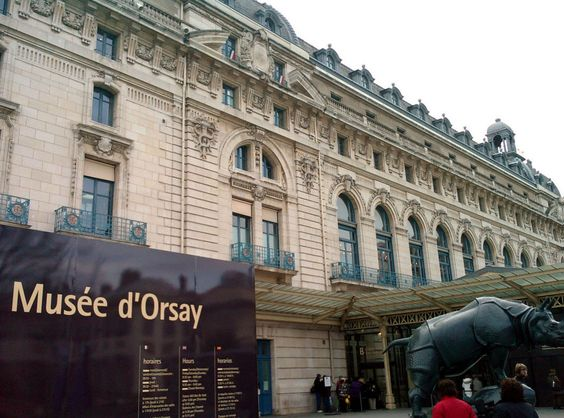 Musee d'Orsay-- A museum on the Seine dedicated to the French Impressionists. Sounds like a perfect day to me!