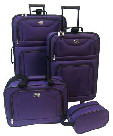 Travelway Group International JetStream 4 Piece Luggage Set ...