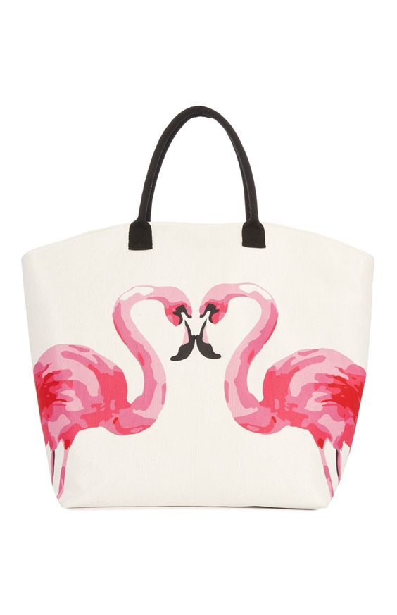 Primark - Pink Flamingo Tote £7
