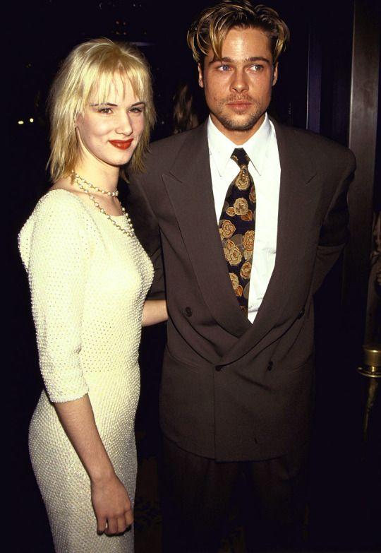 Brad Pitt and Juliette Lewis, 1991