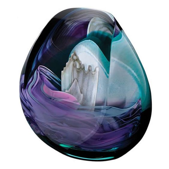 Caithness Glass Highland Retreat Paperweight. Display your heritage proudly in this Highland Retreat glass paperweight - a perfect gift for a loved one