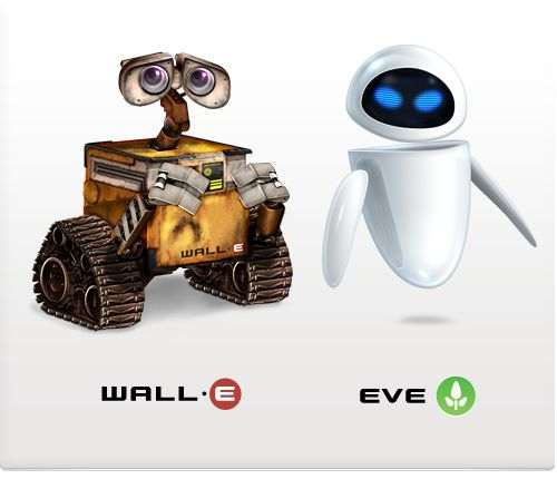 Wall E And Eve Wall E Eve Wall E And Eve Wall E