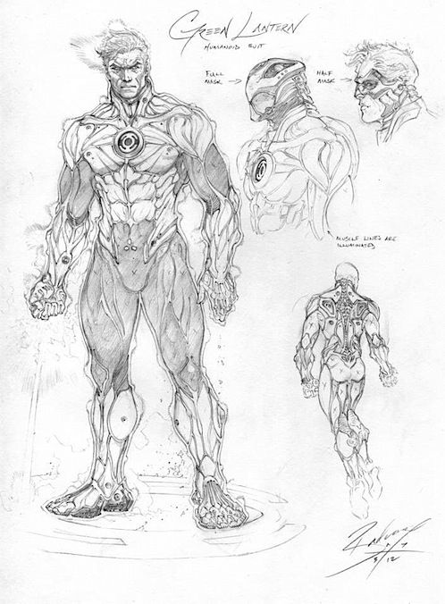 Injustice: Gods Among Us - Alleged Early Concept Art