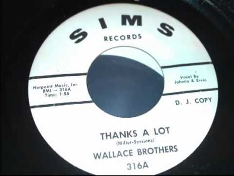 Wallace Brothers-Thank's A Lot
