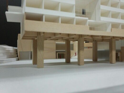 DORMITORY PROJECT MODEL