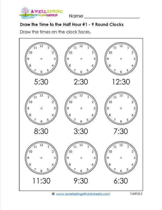 St Patricku0027s Day Kindergarten Math Activities Pack (Print and Go - time worksheets