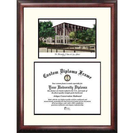 University of Texas, San Antonio 11 inch x 14 inch Scholar Diploma Frame