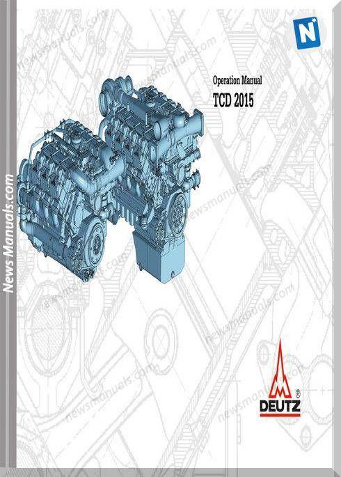 Deutz Tcd 2015 En Operation Manual Manual Operator Engineering