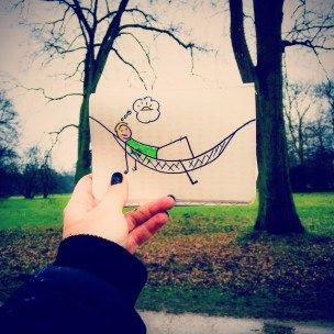 LOVEBREMEN - Lovely Bürgerpark - Sketchnotes by Diana