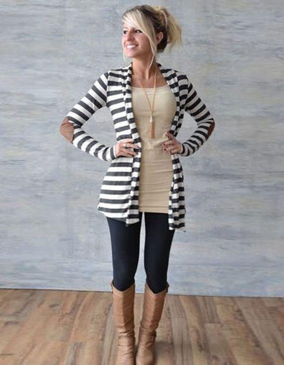 Love My Stripes Cardigan