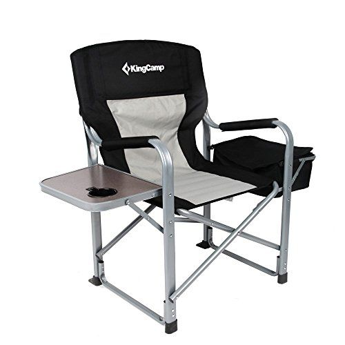 Kingcamp Heavy Duty Steel Folding Chair Director S Chair With