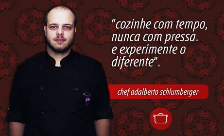 entrevista com o chef adalberto, no #papoprosaico