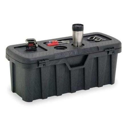 Contico 3514nlbk Portable Tool Box 35 In W 14 In D Portable Tool Box Portable Tools Garage Storage Bins