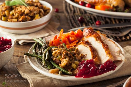 Full Homemade Thanksgiving Dinner by brenthofacker  IFTTT 500px vegetables autumn baked beans breast brussel celebration cooked cranberry delicious di