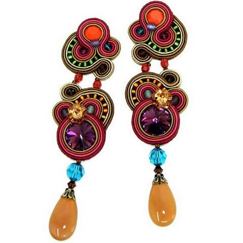 Phoenix earrings will spice up your look #doricsengeri #earrings #spice…