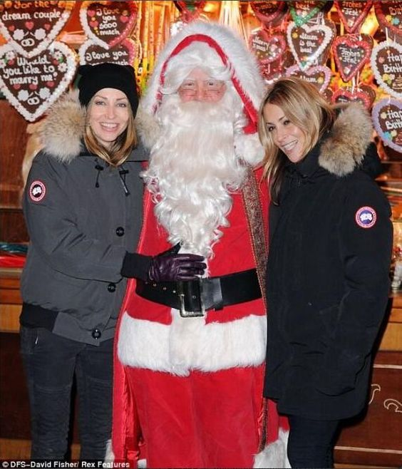 Canada Goose victoria parka outlet cheap - Here's Nicole and Natalie Appleton at Hyde Park's Winter ...