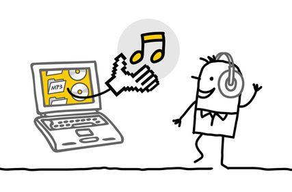 La musique, gratuite ou payante? Exercice FLE - Préparation au DELF B2 - Avancé - http://www.bonjourdefrance.com/exercices/contenu/la-musique-gratuite-ou-payante.html