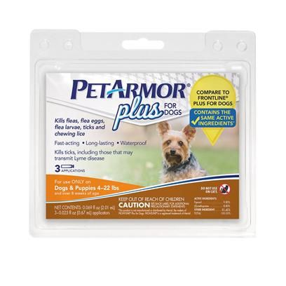 PetArmor Plus F&T Squeeze-On for Dogs