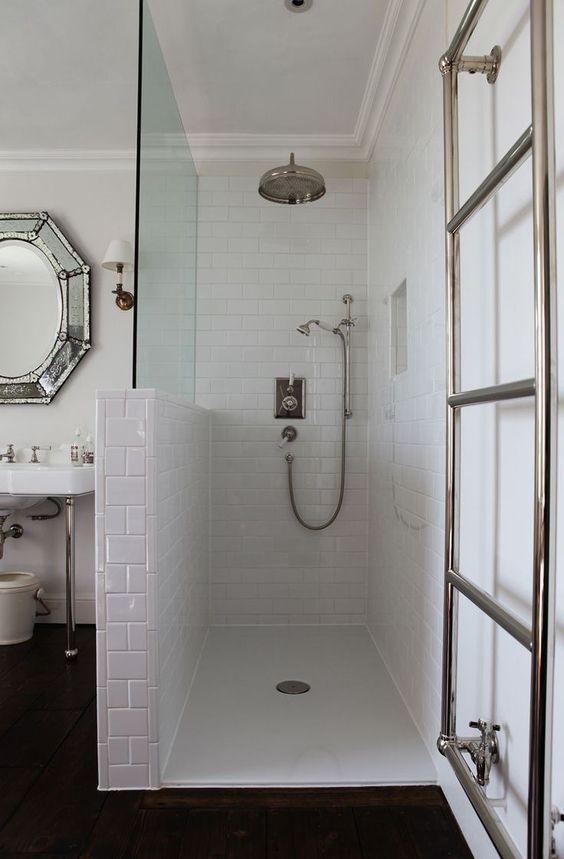 Le Carrelage Metro en 40 Idées Déco Bath, Bath room and Interiors