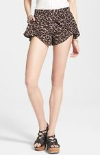 NWT Free People Animal Extreme Crossover Leopard-Print Shorts Multiple Sizes