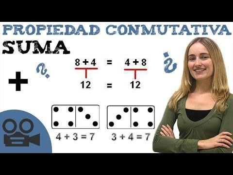 Propiedad Conmutativa De La Suma Youtube Propiedad Conmutativa Conmutativa Suma Para Niños
