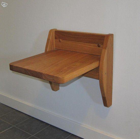 Lobby fällsits vägghängd sits stol för hall Mårten Cyren Stolar Fåtöljer Soffor
