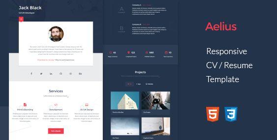 nice ResumeX - Bootstrap Resume Web site Template (Resume \/ CV - resume website template