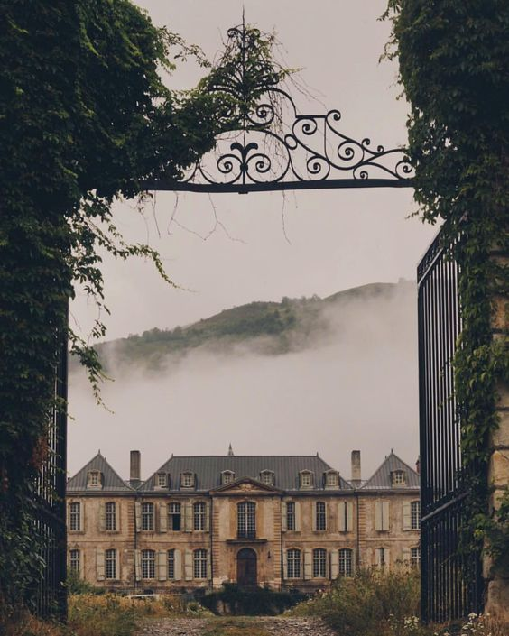 "897 Likes, 22 Comments - Jamie Beck (@annstreetstudio) on Instagram: ""Château in the early morning fog ☁️ @chateaugudanes"""