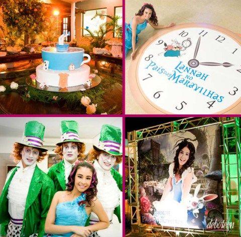 Festa Alice no País das Maravilhas - Wonderland