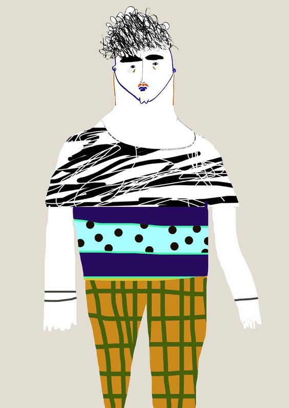 fashion illustration, fashion art, character design, artist, designer, poster,   By Ashley Percival.